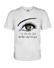 I See Your True Color V-Neck T-Shirt thumbnail