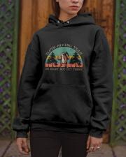 Sloth Hiking Team Hooded Sweatshirt apparel-hooded-sweatshirt-lifestyle-front-03