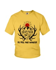 Be Freedom And Wander Youth T-Shirt thumbnail