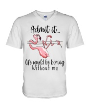 Life Would Be Boring Without Me V-Neck T-Shirt thumbnail