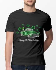 Happy St Patrick's Day Classic T-Shirt lifestyle-mens-crewneck-front-13