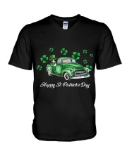 Happy St Patrick's Day V-Neck T-Shirt thumbnail