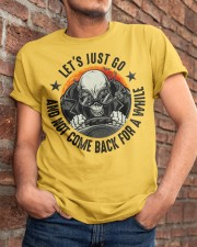 Les't Just Go Classic T-Shirt apparel-classic-tshirt-lifestyle-26