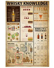 Whisky Knowledge 11x17 Poster front