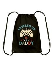 Leveled Up Daddy Drawstring Bag thumbnail