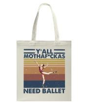 Need Ballet Tote Bag thumbnail