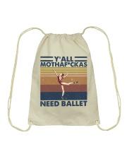 Need Ballet Drawstring Bag thumbnail