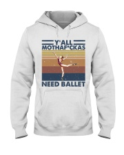 Need Ballet Hooded Sweatshirt thumbnail