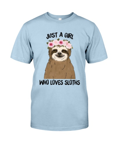 Girl Who Loves Sloths