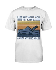 A Croc With No Holes Classic T-Shirt thumbnail