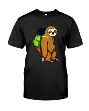 Sloth Hikking Team Classic T-Shirt tile