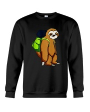 Sloth Hikking Team Crewneck Sweatshirt thumbnail