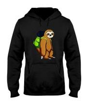 Sloth Hikking Team Hooded Sweatshirt front