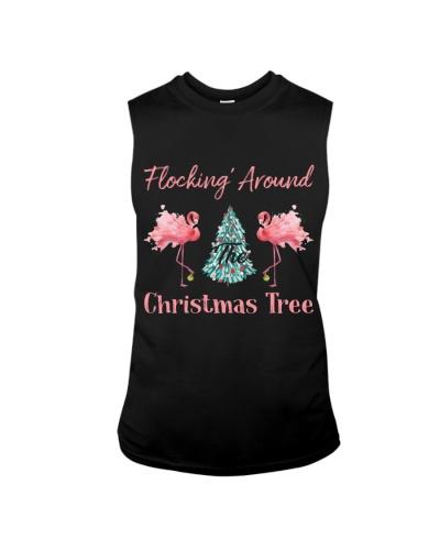 Flocking Around Christmas Tree