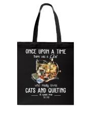 Cats And Quilting Tote Bag thumbnail