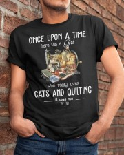 Cats And Quilting Classic T-Shirt apparel-classic-tshirt-lifestyle-26