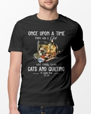 Cats And Quilting Classic T-Shirt lifestyle-mens-crewneck-front-13