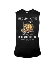 Cats And Quilting Sleeveless Tee thumbnail