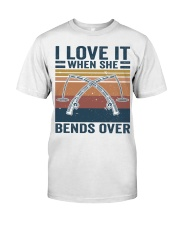 I Love When She Bends Over Premium Fit Mens Tee thumbnail