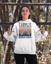 I Love When She Bends Over Hooded Sweatshirt apparel-hooded-sweatshirt-lifestyle-05