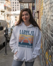 I Love When She Bends Over Hooded Sweatshirt lifestyle-unisex-hoodie-front-1