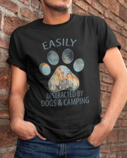 Easily Distracted By Dogs Classic T-Shirt apparel-classic-tshirt-lifestyle-26