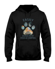 Easily Distracted By Dogs Hooded Sweatshirt thumbnail