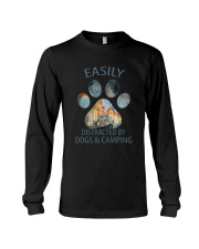 Easily Distracted By Dogs Long Sleeve Tee thumbnail