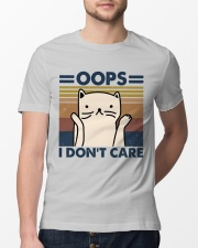 Oops I Don't Care Classic T-Shirt lifestyle-mens-crewneck-front-13