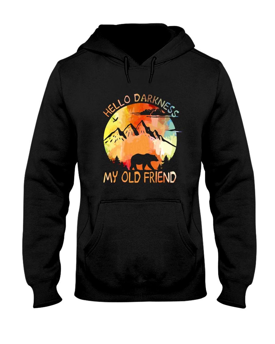 Hello Darkness My Old Friend Hooded Sweatshirt