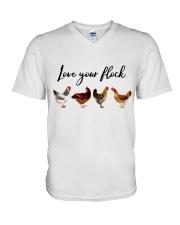 Love Your Flock V-Neck T-Shirt thumbnail