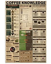 Coffee Knowledge 11x17 Poster front