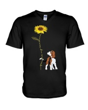 Beagle V-Neck T-Shirt thumbnail