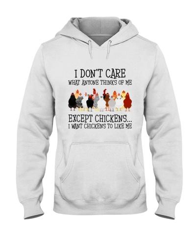 Except Chickens