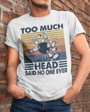 Too Much Head Classic T-Shirt apparel-classic-tshirt-lifestyle-26