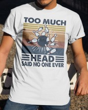 Too Much Head Classic T-Shirt apparel-classic-tshirt-lifestyle-28