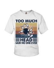 Too Much Head Youth T-Shirt thumbnail