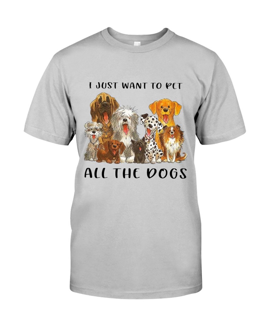 Pet All The Dogs Classic T-Shirt