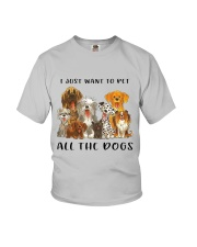 Pet All The Dogs Youth T-Shirt thumbnail