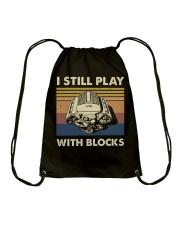 I Still Play Drawstring Bag thumbnail