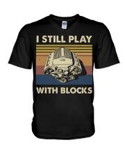 I Still Play V-Neck T-Shirt thumbnail