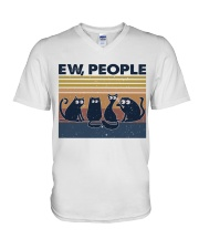 Ew People V-Neck T-Shirt thumbnail