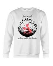 In love With Books Crewneck Sweatshirt thumbnail