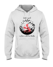 In love With Books Hooded Sweatshirt thumbnail