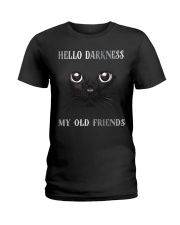 Hello Darkness My Old Friend Ladies T-Shirt thumbnail