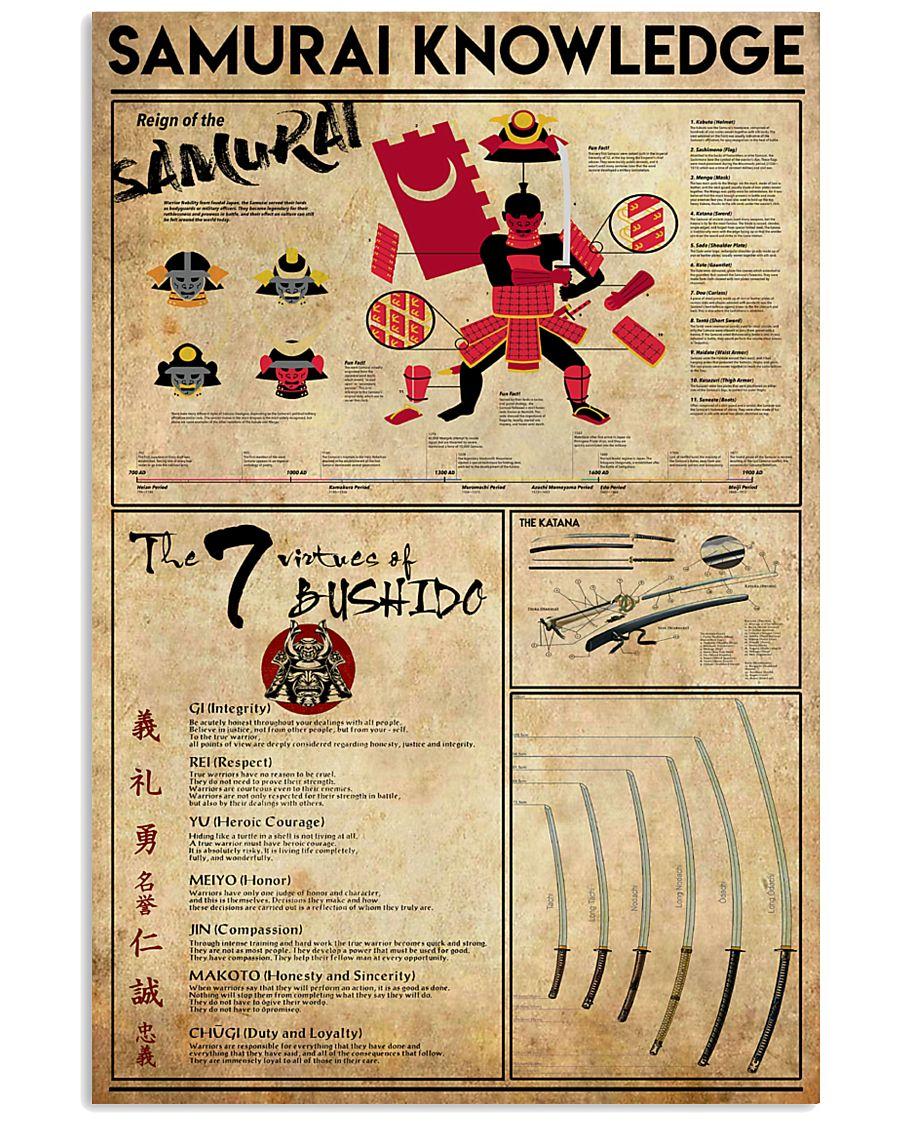 Samurai Knowledge 11x17 Poster