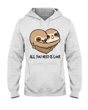 All You Need Is Love Hooded Sweatshirt thumbnail