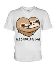 All You Need Is Love V-Neck T-Shirt thumbnail