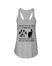 Dogs And Body Boarding Ladies Flowy Tank thumbnail
