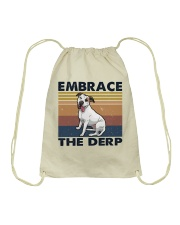 Embrace The Derp Drawstring Bag tile